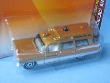 Matchbox 1963 Cadillac Ambulance Gold Hospital Medic USA Retro 75mm in BP