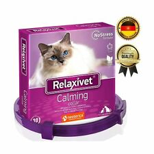 Relaxivet Calming Collar For Cats and Small Dogs - Reduce Anxiety Your Pets -.