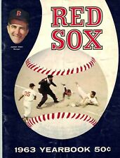 1963 Boston Red Sox Yearbooks - Two (2) in VG Condition
