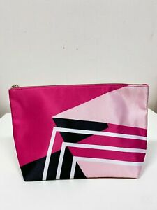 """New Design!! Lancome Cosmetic Makeup Bag Polyester Gift Bag with Zipper 10x6.5"""""""