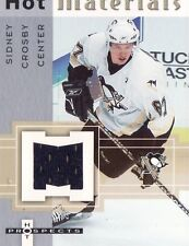 2005/06 SIDNEY CROSBY HOT PROSPECTS ROOKIE JERSEY CARD