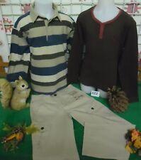vêtements occasion garçon 8 ans,polo OKAIDI,pantalon 7 ans,sweat ORCHESTRA