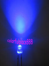 200pcs, New 3mm Blue Round Top 5000MCD Bright Water Clear LED Leds Free Shipping