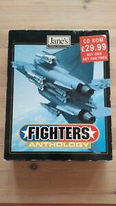 JANE'S FIGHTERS ANTHOLOGY - 1997 PC CD BIG BOX - FLIGHT COMBAT SIM SIMULATION EA