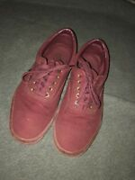 vans sz.10 -Red, only worn 2-3 times