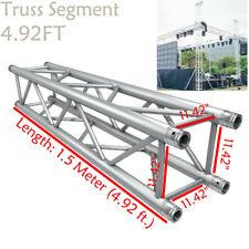 Square Aluminum Stage DJ Light Stand Truss Segment 4.92FT Fit Global Truss F34