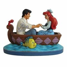 Disney Traditions * Waiting for a Kiss * Little Mermaid Ariel Eric Statue Figure
