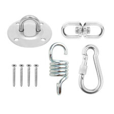 Boat Parts & Accessories 700lb Weight Capacity Sturdy Steel Extension Spring Fits Hammock Chair Hanging Porch Suspension Hooks Garden Swing Punch Bag Bright In Colour Marine Hardware