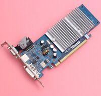 Gigabyte NX84G256HE NVIDIA Geforce 8400GS PCI-E X16 256MB DDR2 VGA/DVI/S-Video