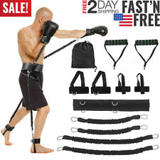 Boxing Training Equipment Thai Gym Strength Sports Fitness Resistance Bands Set