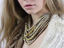 FAIRCHILD BALDWIN Marcella MARBLE CAMEL multi-strand Collar Necklace NWT