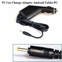 DC 5V 1.5A Car Power Charger Adapter Socket Lighter 2.5mm for Android Tablet PC