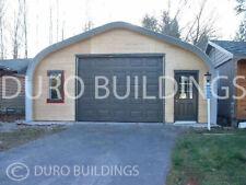 Durospan Steel 30x32x15 Metal Building Home Shop Diy Garage Kit Open Ends Direct
