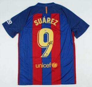 Luis Suarez Signed FC Barcelona Jersey (Beckett COA)