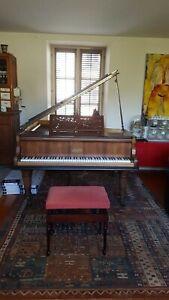 A saisir:  A saisir piano 1m80 Erard fin années 1800, en bon état et fonctionnel