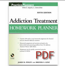 Addiction Treatment Homework Planner P DF Format Sent To E Mail Read-description