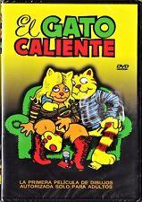 Ralph Bakshi: EL GATO CALIENTE (Gato Fritz) Tarifa plana en envío dvd España 5 €