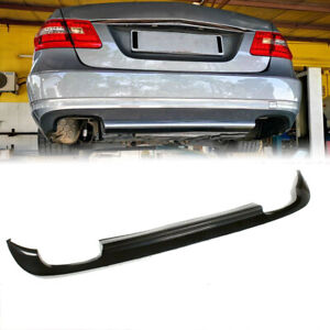 Rear Bumper Diffuser Lip Spoiler for Mercedes Benz E-Class W212 Non-AMG 10-13