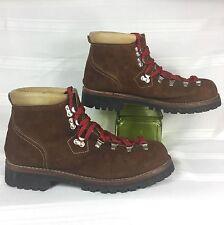 vintage SEARS USA made VIBRAM mountain/hiking/trail/trekking boots . men's 10.5