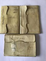 3 Antique Bank Books County of Gloucester Bank 1861-1903