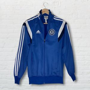 Vintage Chelsea Football Club Adidas Vintage Blue Tracksuit Top Size XL