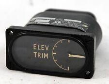 Elevator trim gauge for RAF Canberra aircraft (GD6)