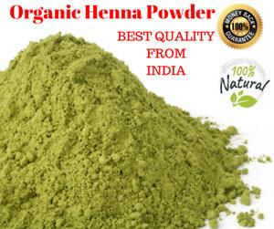 Organic Henna Powder For Hair With Amla Brahmi Neem Shikakai Natural