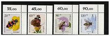 GERMANY DEUTSCHE BUNDESPOST 1984 POLLINATING INSECTS SET OF 4 MINT NEVER HINGED