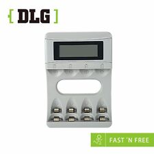 DLG CBC46 RECHARGE BATTERY CHARGER Wire Included For  AA&AAA batteries