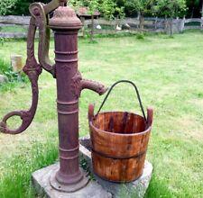 Mittelalterliche Brunnen Eimer Holz, Antike Eimer Mittelalter Feste,  Holzeimer