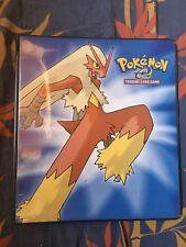 Official 3 Ring Binder Pokémon Blaziken Brasegali Ex Ruby Rubis Saphir 2003