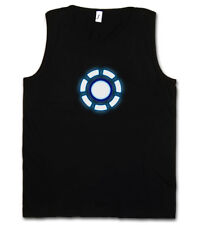 Arc Reactor II Tank Top Iron Avengers Tony Stark Mark on Invincible Industries