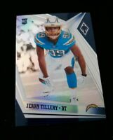 2019 Panini Phoenix Football Silver #178 Jerry Tillery RC LOS ANGELES CHARGERS
