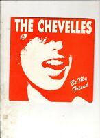 "CHEVELLES Be My Friend 7"" w/PS AUSSIE POWERPOP The Stems"