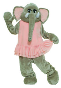 Elephant Dancing Plush Economy Mascot Adult Costume Funny Animal Theme Party