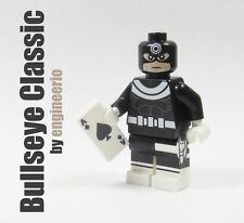 LEGO Custom - Bullseye Classic - Marvel Super heroes mini figure daredevil