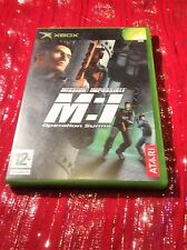 ORIGINAL XBOX GAME - Mission Impossible M:I - Complete with manua