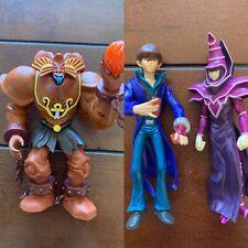 Yu-gi-oh! Toy Lot Action Figures Yugioh Cards Kaiba Exodia Dark Magician Yugi