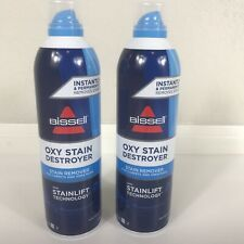 Lot of 2 Bissell Oxy Stain Destroyer Stain Remover Stainlift Technology 396 ml