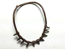 Vintage Marx Johnny West WILDERNESS SCOUT DANIEL BOONE (Bear-claw Necklace) RARE