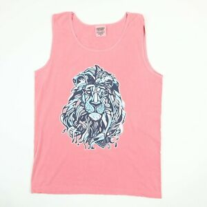 Comfort Colors ADPi Alpha Delta Pi Tank Top Shirt S Faded Welcome to the Jungle