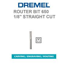 NEW AUTHENTIC DREMEL 650 ROUTER BIT HIGH GRADE STEEL, HIGH SPEED CUTTER