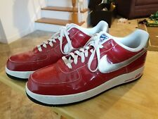 Nike Men's Air Force 1 Sneakers - Size 16 US, Red White Blue