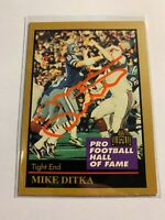 1991 Enor Card #34 Mike Ditka Signed Auto Autograph HOF Hall of Fame Dallas