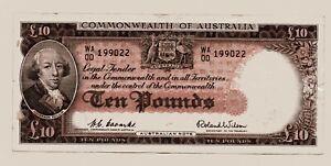 Commonwealth of Australia Ten Pound Note