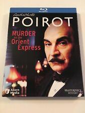 Agatha Christie's Poirot: Murder on the Orient Express (Blu-ray Disc, 2010)