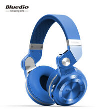 Bluedio Turbine T2+ Wireless Headohones Stereo Bluetooth V4.1Headsets Blue FM