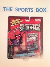Johnny Lightning 1955 LINCOLN FUTURA Spider Man 1:64 Diecast (Sealed)