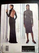 VOGUE American Designer 2230 DRESS Gown Pattern Isaac Mizrahi 14-16-18 Uncut FF