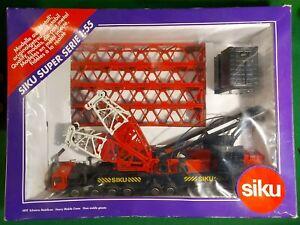 SIKU Heavy Mobile Crane 4810 Scale 1:55 Boxed super serie